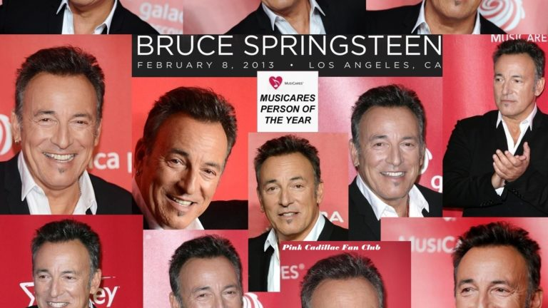 Accadde oggi: Il MusiCares Person Of The Year 2013 premia Bruce Springsteen