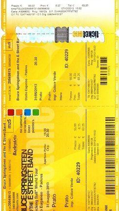 Accadde oggi: Bruce Springsteen & The E Street Band – 31-05-2013 – Stadio Euganeo – Padova