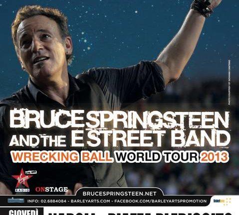 Accadde oggi: Bruce Springsteen & The E Street Band – 23-05-2013 – Piazza del Plebiscito – Napoli