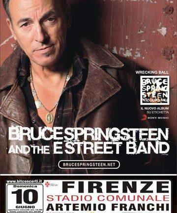 "Accadde oggi: Bruce Springsteen and the E Street Band – ""The Wrecking Ball Tour"", Firenze, Stadio ""A. Franchi"", 10 giugno 2012"