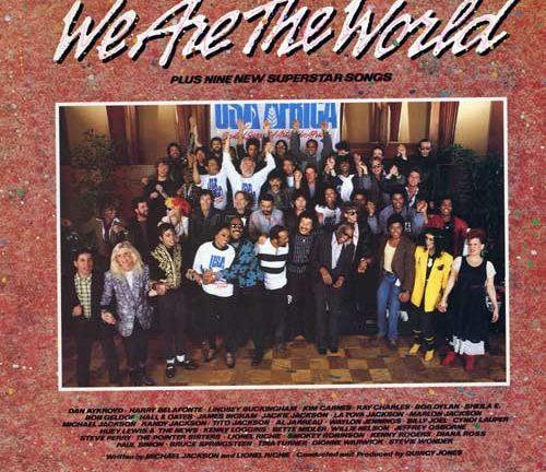 Accadde oggi: 7 Marzo 1985 viene pubblicato WE ARE THE WORLD